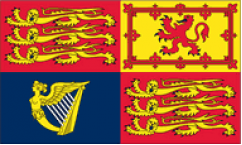 UK Royal Standard Flags