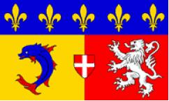 Rhone-Alpes Flags