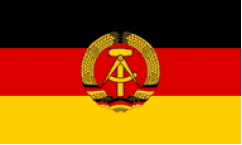 East Germany Flags