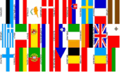 Euro 27 Nations Flags