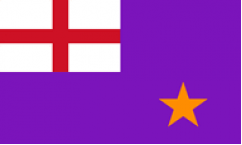 Purple Order Flags