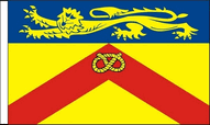 British County Table Flags