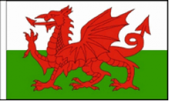 Welsh Hand Flags