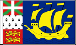 French Regional Table Flags