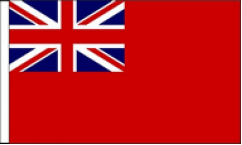 British Military Table Flags
