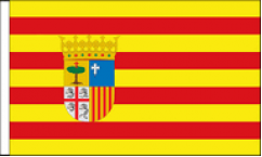 Spanish Regional Table Flags