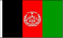 Afghanistan Hand Waving Flags