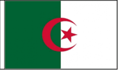 Algeria Hand Waving Flags