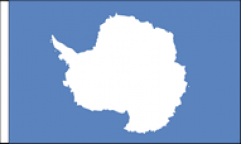 Antarctica Table Flags