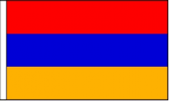 Armenia Hand Waving Flags