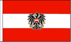 Austria Table Flags