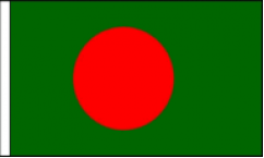 Bangladesh Hand Waving Flags