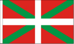 Basque Hand Waving Flags