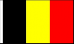 Belgium Hand Waving Flags