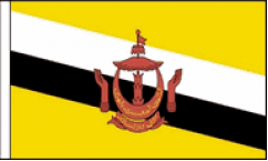 Brunei Hand Waving Flags