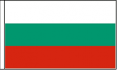 Bulgaria Hand Waving Flags