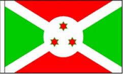 Burundi Hand Waving Flags