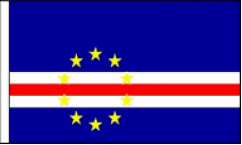 Cape Verde Hand Waving Flags