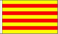 Catalonia Hand Waving Flags