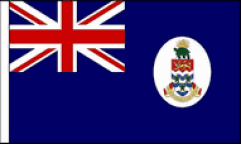 Cayman Islands Table Flags