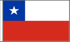 Chile Hand Waving Flags