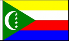 Comoros Hand Waving Flags