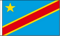 Congo Hand Waving Flags