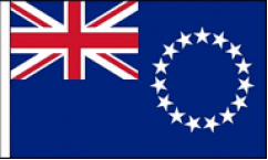 Cook Islands Table Flags