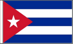 Cuba Table Flags