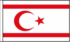 Northern Cyprus Table Flags