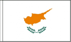Cyprus Hand Waving Flags