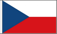 Czech Republic Hand Waving Flags