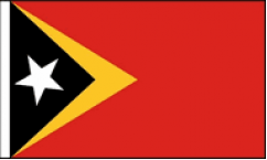 East Timor Hand Waving Flags