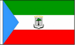 Equatorial Guinea Hand Waving Flags