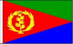 Eritrea Hand Waving Flags