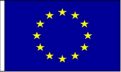 European Union Table Flags