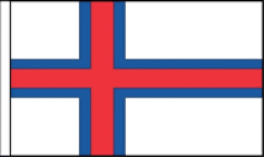 Faroe Islands Table Flags