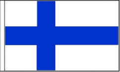 Finland Hand Waving Flags