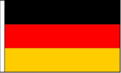 German Hand Waving Flags