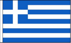 Greece Hand Waving Flags