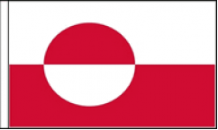 Greenland Table Flags