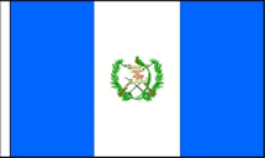 Guatemala Hand Waving Flags