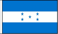 Honduras Hand Waving Flags