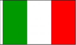 Italy Hand Waving Flags