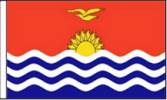 Kiribati Hand Waving Flags