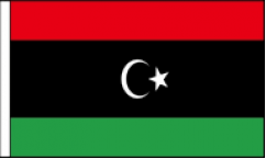 Libya Hand Waving Flags