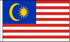 Malaysia Table Flags