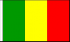 Mali Hand Waving Flags