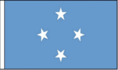 Micronesia Hand Waving Flags