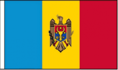 Moldova Hand Waving Flags